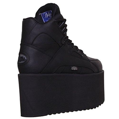 Buffalo Mens 1300-10 Leather Boots Noir