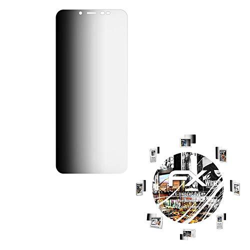 atFolix Blickschutzfilter für Allview X4 Soul Infinity L Blickschutzfolie, 4-Wege Sichtschutz FX Schutzfolie