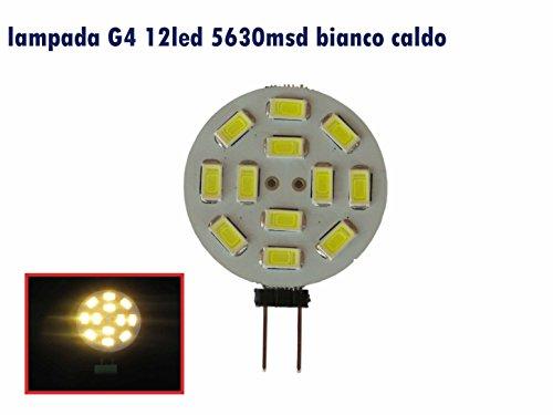 LED-Lampe G4, Durchmesser: 30 mm,mit 15LED, 5630,2,5Watt, DC 12 Volt, 230Lumen