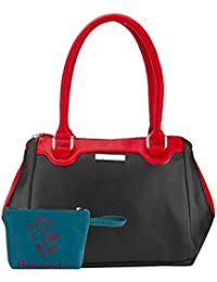 Beloved Black Woozy Handbag Combo 1022COBL