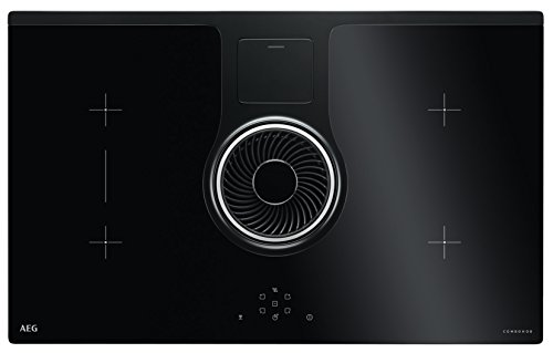 AEG Combo Hob ide84242i B/Plaque Induction + Hotte/Plaque de Retrait/abluft & Hob²...