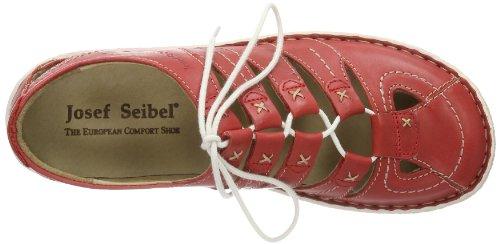 Josef Seibel Nicole 02 85094 950 350 Damen Schnürhalbschuhe Rot (Rot)