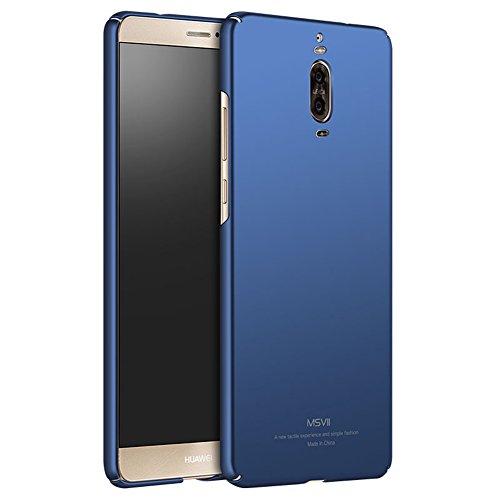 Huawei Mate 9 Pro Hülle, MSVII® Sehr Dünn Hülle Schutzhülle Case Und Displayschutzfolie für Huawei Mate 9 Pro (Nicht mit Mate 9 kompatibel) - Schwarz JY00221 Blau