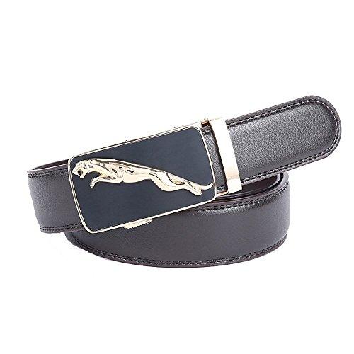 nuovo-da-uomo-automatico-lega-fibbia-cintura-in-pelle-design-cinghia-in-vita-coffee1-120-cm