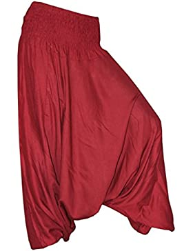 PANASIAM - Pantalón - Corte amplio - para mujer