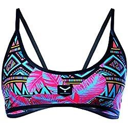 Mujer TAYMORY Pink Leopard Sw35d Top Bikini