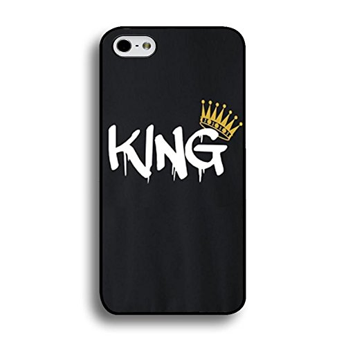 Art King Queen Case for Iphone 6 Plus/6s Plus 5.5 Inch Funny Cool Cartoon Cover Fashion Couples Hard Phone Cases for Iphone 6 Plus/6s Plus 5.5 Inch Color147d