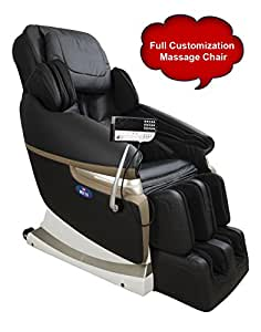 JSB MZ15 Full Body Massage Chair with Powerful 3D Back and Leg Massage (Black)