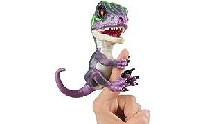 Wow Wee Untamed - Dinosauro Velociraptor, per Dita