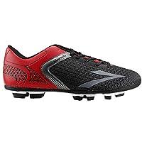 Lig Melendiz Siyah-Kırmızı Çim Saha Erkek Krampon Spor Ayakkabı