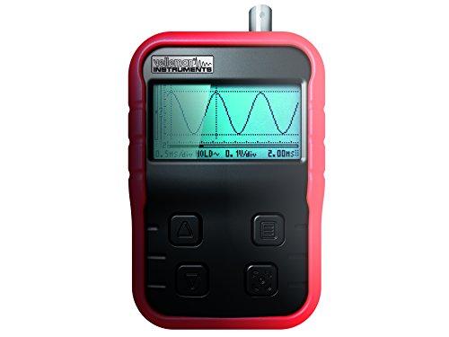 Produktabbildung von Velleman Hand-Oszilloskop mit USB-Ladegerät und X10-Sonde, HPS140I