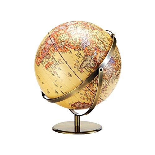 PPO Desktop Cork Globe Messing Basis Push-Pins Reisekarte Reisen Abenteuer & Erinnerungen