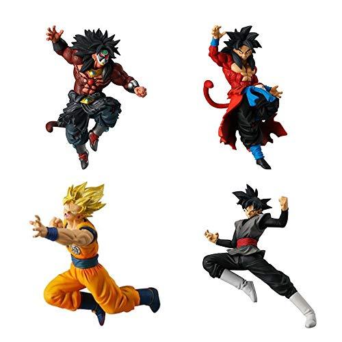 Juego Completo 4 Figures Colección Dragonball Versus DB Super Battle