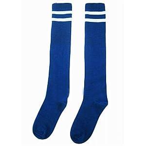 Alien Storehouse Breathfußballspiel Socken knielangen Socken für Kinder, Blau