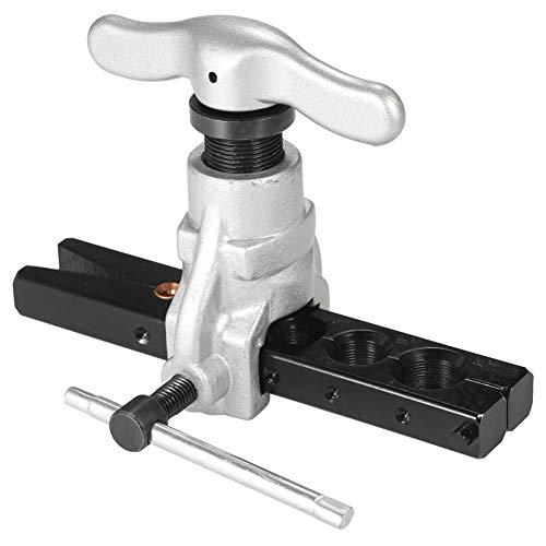 ACAMPTAR Exzenterverbreiterungs-Werkzeug-Satz Wasser-Gas-Bremsleitungs-Anwendungs-Schlauch Zoll 45 Grad-Winkel-Exzenterkegel-Art Boerdelwerkzeug (3 8 Stahl Bremsleitung)