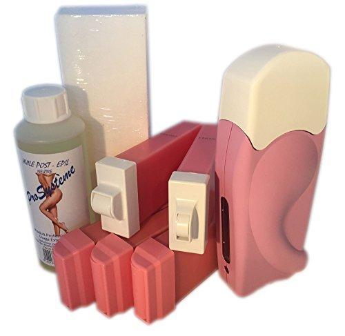 epilwax-sas-kit-depilazione-assolo-completo-corpo-viso-maglia-a-la-cera-usa-e-getta-rosa-in-roll-on