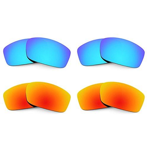Revant Ersatzlinsen für Costa Caballito Polarisiert 4 Paar Kombipack K022