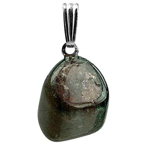Pendentif tourmaline noire pierre roulee