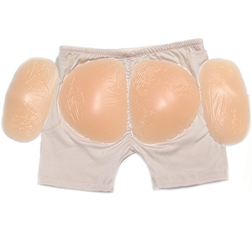 Invisibile Imbottito Panty-seamless Butt Curve Lifter Sexy Naturale Beige