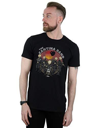 Star Wars Herren Cantina Band T-Shirt Schwarz XXX-Large