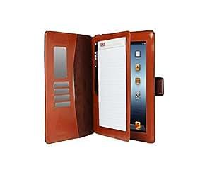 Sena Florence Étui de protection en cuir avec stylet et bloc-notes pour Apple iPad Marron