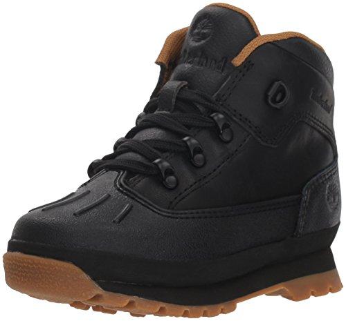 Timberland - Chaussures Euro Hiker Shell Toe pour Jeunes Femmes, 37 M EU, Black