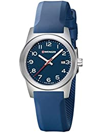 WENGER Damen-Armbanduhr SPORT DYNAMIC FIELD COLOR Analog Quarz Silikon 01.0411.137