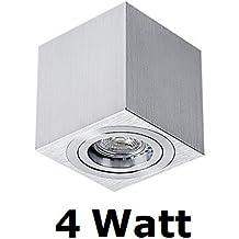 Faretto/Lampada da soffitto DUC con LED SMD, cubica, luce verso il basso