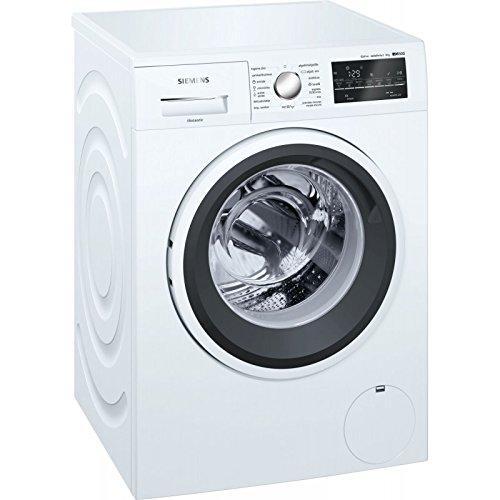 Siemens iQ500 WM14T469ES Lavatrice, Libera Installazione, Carica Frontale, 8kg, 1400Giri/min, A+++, Bianco