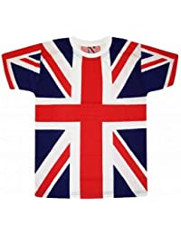 Union Jack Flag All Over Print T-Shirt