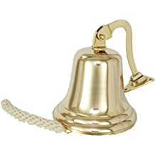 Buckingham 17,5 x 22,5 cm latón macizo barco/la última Mis pedidos/la cerveza Guinness/para puerta se puede montar en pared Bell, dorado