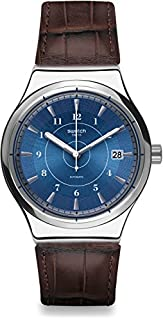 Swatch Herren Digital Automatik Uhr mit Leder Armband YIS404 (B01LY7FSD0) | Amazon price tracker / tracking, Amazon price history charts, Amazon price watches, Amazon price drop alerts