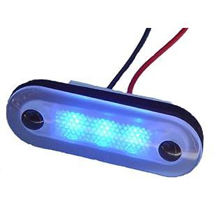 Aqua Signal 3-LED Accent and Courtesy Light, Blue