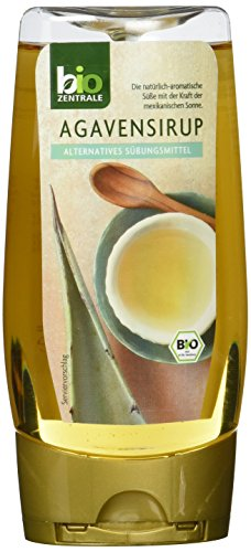 biozentrale Agavensirup | 3 x 350g Agavendicksaft Bio | Idealer Agaven Sirup | Süßungsmittel und Ahornsirup Alternative | Agavennektar Ersatz