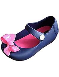 Absolute Footwear, Sandali bambini, arancione (Orange/blu), 42 2/3
