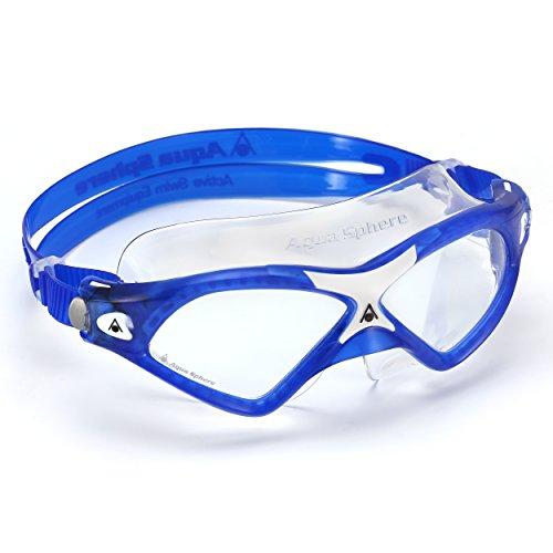 Aqua Sphere Seal XP2 Schwimmbrille, Clear Lens-Blue/White, Regular Fit