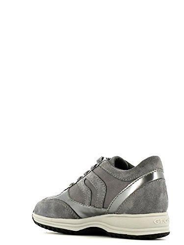Geox Jr Happy Girl B, Sneaker, Ragazza Grigio