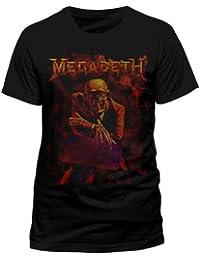Official T Shirt Black MEGADETH Peace Sells XL