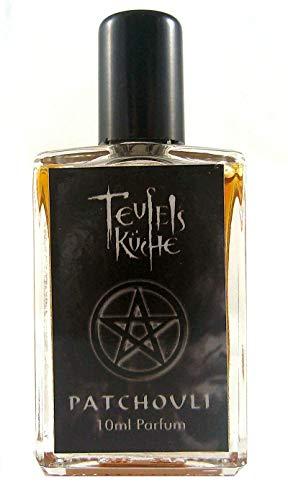 Teufelsküche Patchouli Natur, Parfum unisex, Gothic Parfum, Mini Flakon, 10ml Glasflakon, Gotik Patchouly -