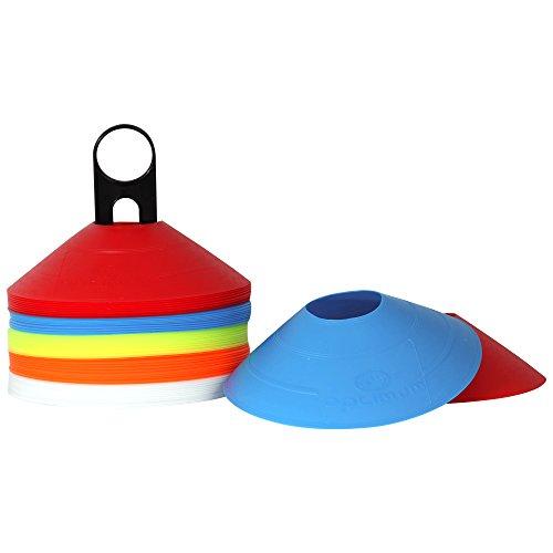 OPTIMUM - Conos de entrenamiento (50 unidades, plástico)