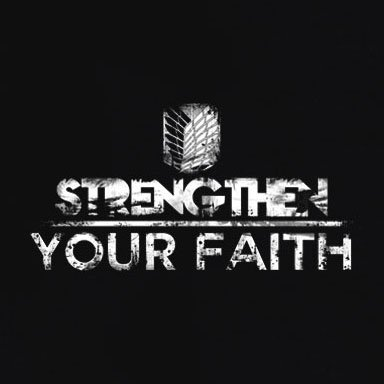 TEXLAB - Strengthen your Faith - Damen T-Shirt Braun