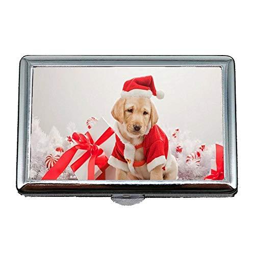 Portasigarette, perfetto per cane cane di natale, porta carte di credito