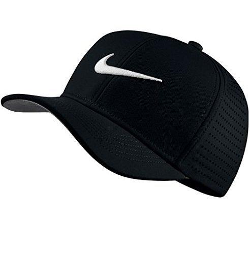 Nike Ya Classic 99, Gorra Unisex de Golf para Jóvenes, Negro, Talla...