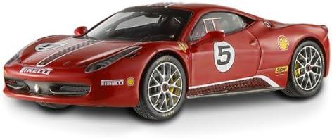 Hotwheels - Elite (Mattel) - X5504 - Véhicule Miniature - Ferrari 458 Challenge - 2010 - Echelle 1:43 | De Grandes Variétés