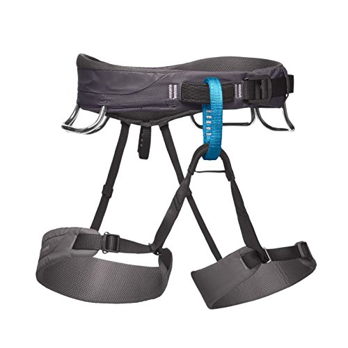 Black Diamond Momentum IMBRAGO Grigio Arrampicata Versatile Outdoor Mountain