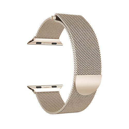 ITerk - Correa Acero Inoxidable Compatible Apple Watch