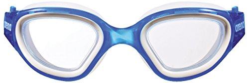 arena Unisex Training freizeit Schwimmbrille Envision (UV-Schutz, Anti-Fog Beschichtung für Allergiker), Blue-Clear-Blue (71), One Size