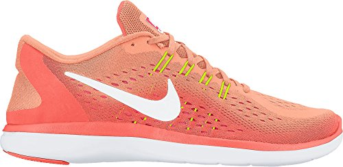 Nike Damen 898476 Sneakers SUNSET GLOW/WHITE-BRIGHT MANGO