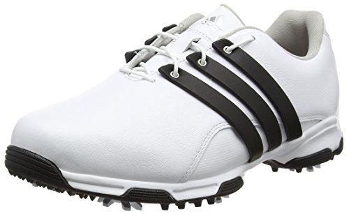 adidas Pure TRX WD–Chaussures de Golf pour Homme, Homme, Blanc/Noir