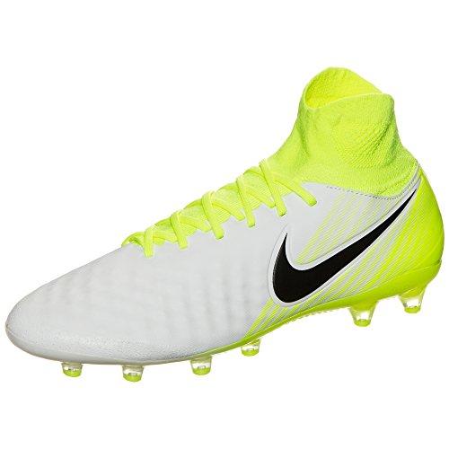 Nike Men 843811-375 Scarpe Da Calcio 109 Bianco / Nero-volt-puro Plat